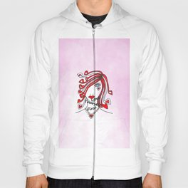 Love Yourself First Pink Hoody