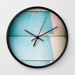 lazy daisy Wall Clock