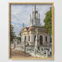 Christopher Columbus Necropolis Cemetery Graveyard Havana Cuba Latin America Gothic Architecture Sai Serving Tray