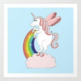 Magical Unicorn Art Print