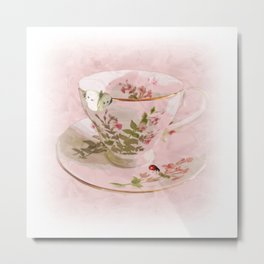 Butter Cup Metal Print