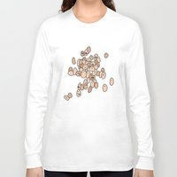 eggs Long Sleeve T-shirts featuring Eggs by Marc Mif