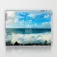 Wave Catcher Laptop & iPad Skin
