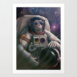 Spacefarer - Recolor Art Print