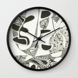 Shapely Harvest Time Wall Clock