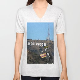 Ray in Hollywood Unisex V-Neck