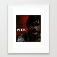 30 seconds to mars Framed Art Prints featuring 30 Seconds to Mars by Genesys