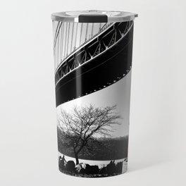 The Little Red Lighthouse - George Washington Bridge NYC Travel Mug