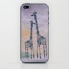 giraffes iPhone & iPod Skin
