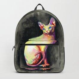 White Sphynx Backpack