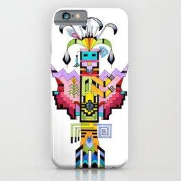 Kachina Butterfly 6 iPhone Case