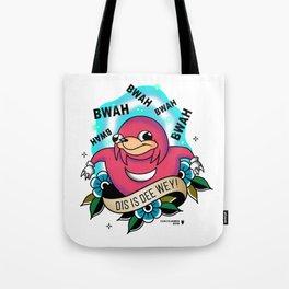DI IS DEE WEY! Uganda Knuckles Tote Bag