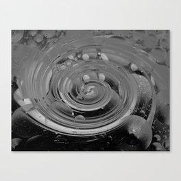 bubble + twirl Canvas Print
