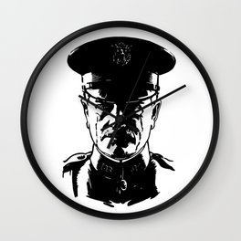 General John Pershing Wall Clock