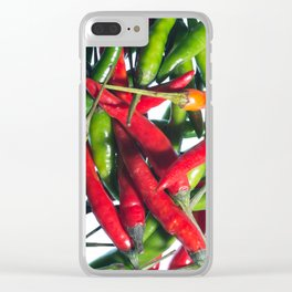 Chilli Riot Clear iPhone Case