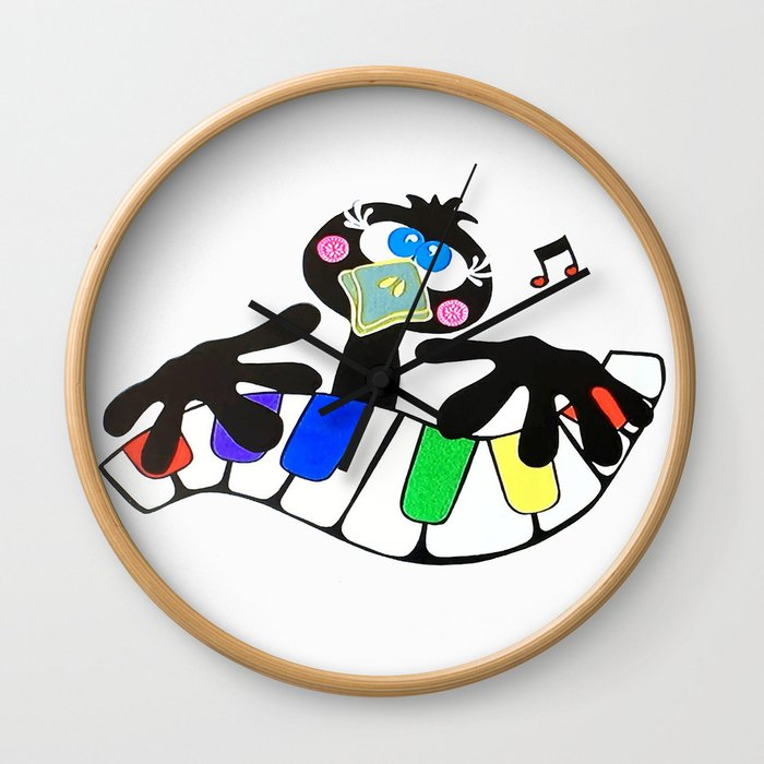 Music to crow about Wall Clock