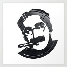 Groucho Marx Art Print