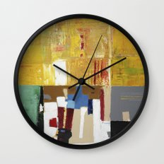Formality Colorful Modern Art Painting Wall Clock