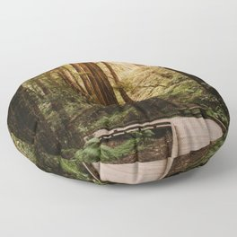 Muir Woods | California Redwoods Forest Nature Travel Photography Floor Pillow