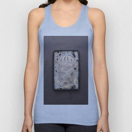 Rugged Coat of Arms (backside) Unisex Tank Top