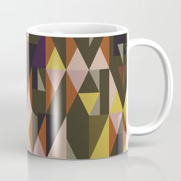 Vintage triangles vibe Coffee Mug