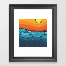 Pierside Framed Art Print