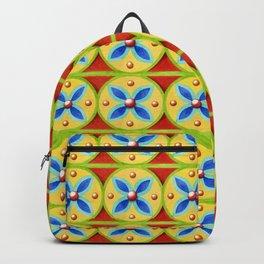 Heraldic Stripe Backpack