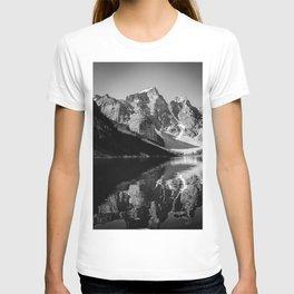 Moraine Lake (Black & White) T-shirt