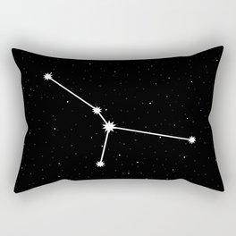 Cancer Star Sign Night Sky Rectangular Pillow