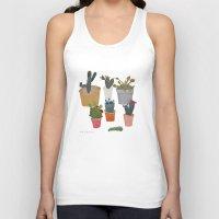 cactus Tank Tops featuring Cactus by Anita Dominoni
