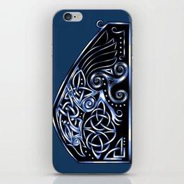 Celtic Raven iPhone Skin