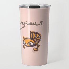 miau? Travel Mug