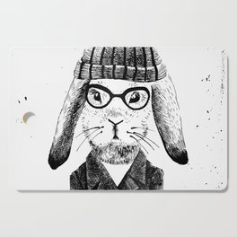 Hiphop Beanie Bunny Top Cutting Board