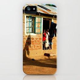 Kenya / Kitui Kids 3 iPhone Case