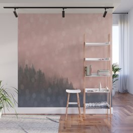 Frosty Morn, Forest Landscape Sparkles Wall Mural