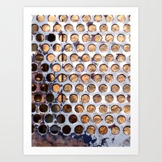 More Metal Dots Art Print