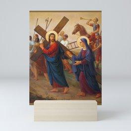 The Way Of The Cross - 4 Mini Art Print
