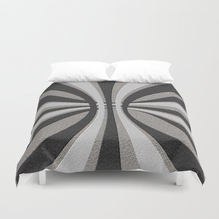 Grayscale Design Duvet Cover