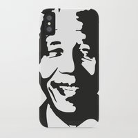 mandela iPhone & iPod Cases featuring Mandela by b & c