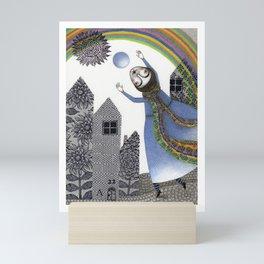 Rainbow Mine (2) Mini Art Print
