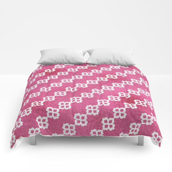 Pretty In Pink Comforters