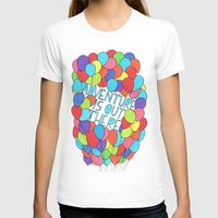 adventure is out there T-shirts featuring Adventure by Prince Arora