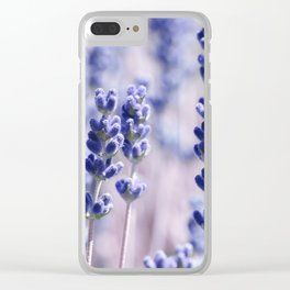 Lavender 0158 Clear iPhone Case