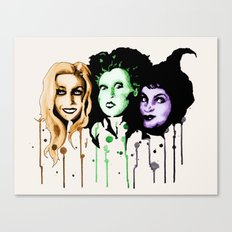 The Sanderson Sisters  Canvas Print