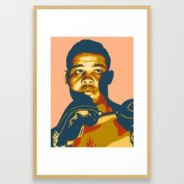 Joe Louis Framed Art Print