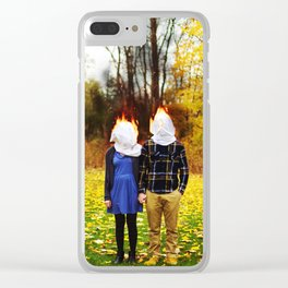 i miss you terribly Clear iPhone Case