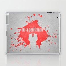 be a gentleman Laptop & iPad Skin