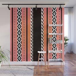 Faux knit cloth sun Wall Mural