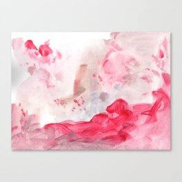 Strawberry paradise Canvas Print