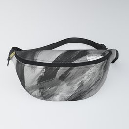 Abstract Artwork Greyscale #1 Fanny Pack